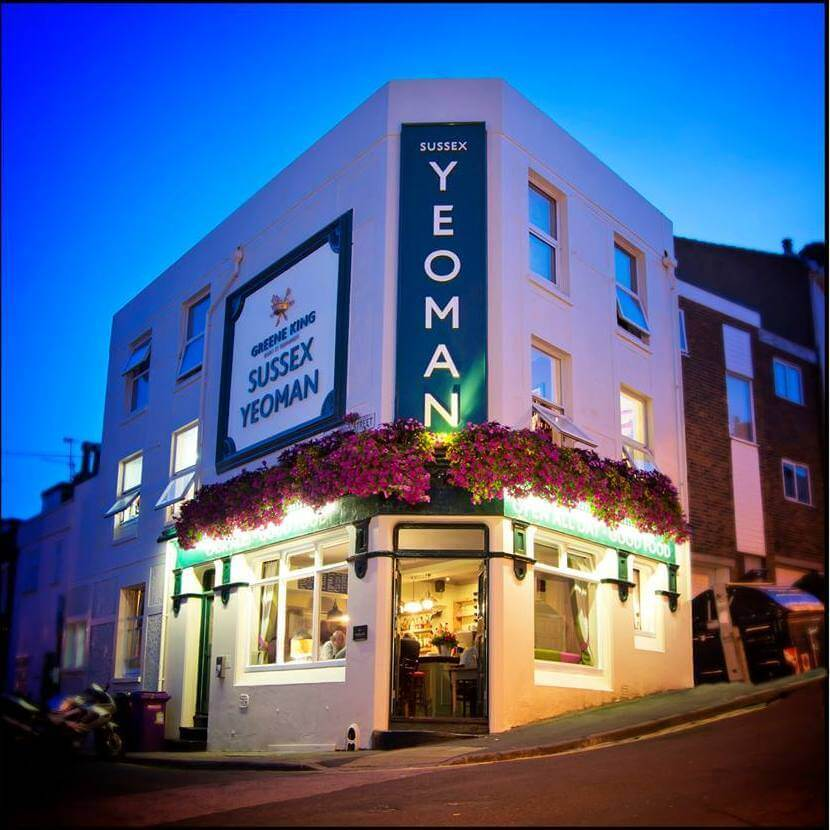 sussex yeoman brighton dog friendly