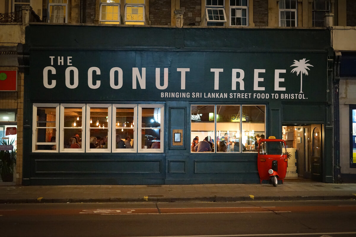 coconut tree bristol dog friendly